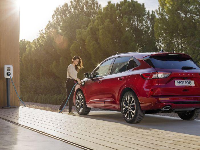 Dreierlei Hybrid: Der neue Ford Kuga