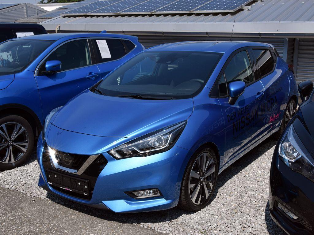 Nissan Micra - DIG-T 117 Schaltgetriebe - Tekna, 360 Kamera, Navi