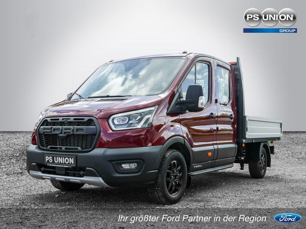 Ford Transit - DoKa Pritsche 350L3 Trail 4x4 96KW Bi-Xenon Sndhzg