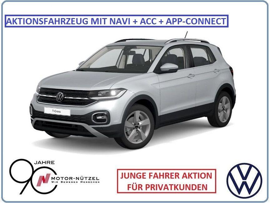 Volkswagen T-Cross - Style 1.0 DSG **EROBERUNG + JUNGE FAHRER U21**