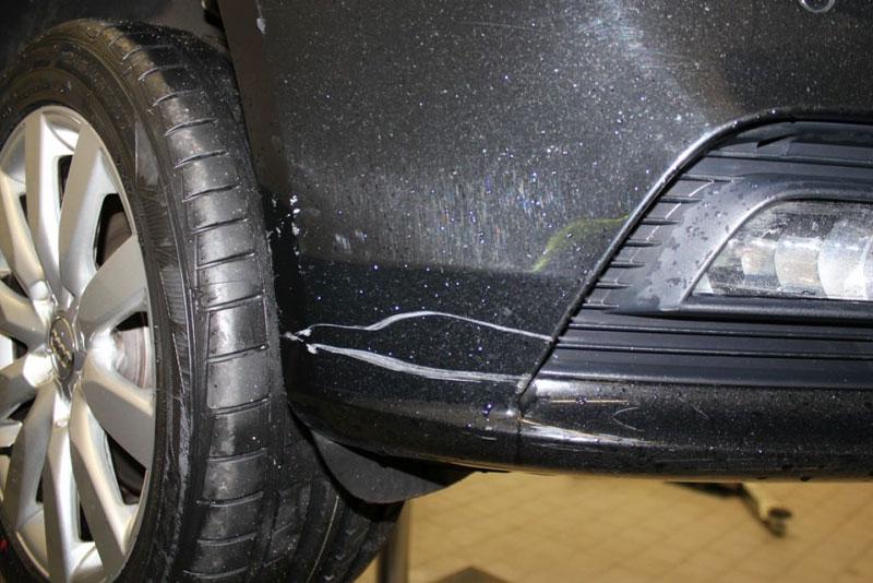 Auto Leasing - die Fahrzeugrückgabe - Lack 5