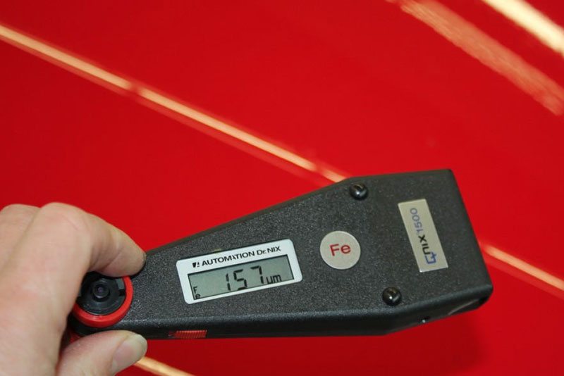 Auto Leasing - die Fahrzeugrückgabe - Lack 7