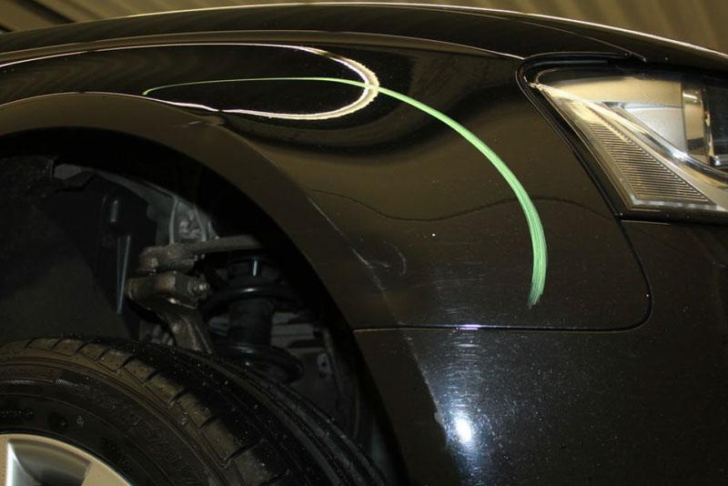 Auto Leasing - die Fahrzeugrückgabe - Lack 9
