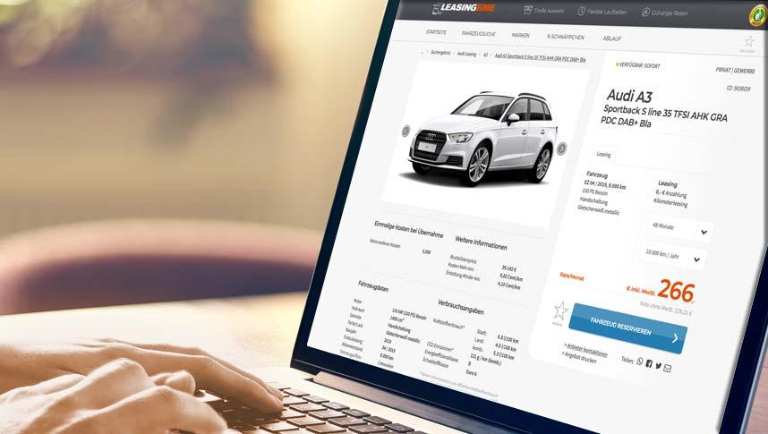 Auto Leasing - einfach Anfrage stellen und Leasing beantragen
